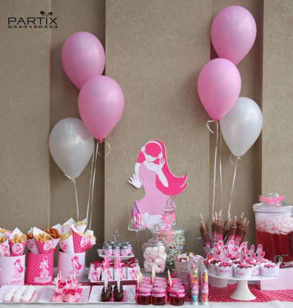10Th Birthday Party Ideas Girl  Kara s Party Ideas Pink Girl Tween 10th Birthday Party