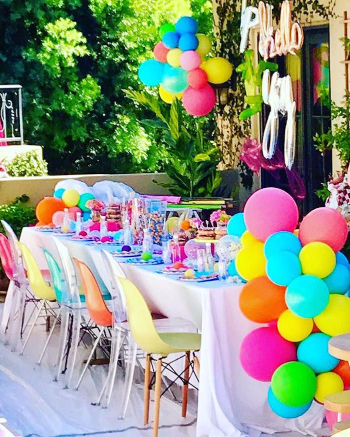 10Th Birthday Party Ideas Girl  Pin on Party Trends