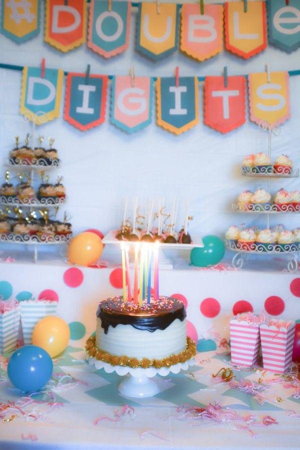 10Th Birthday Party Ideas Girl  Best 25 10th birthday parties ideas on Pinterest