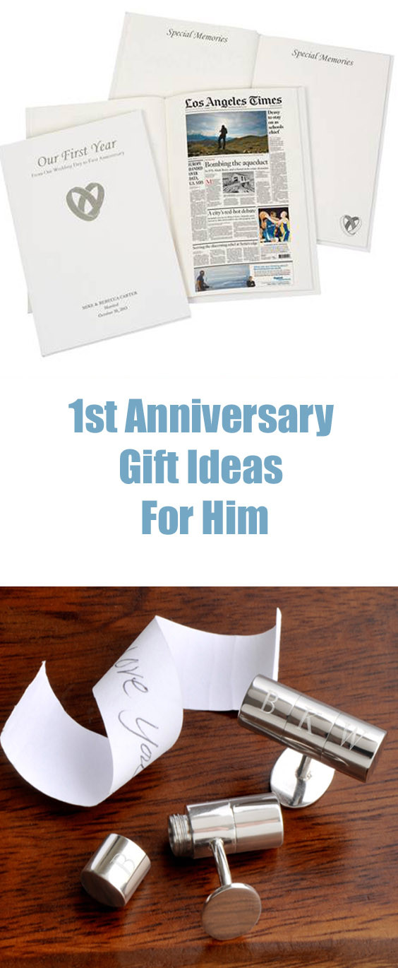 1St Anniversary Gift Ideas For Him  1 Year Anniversary Gift Ideas For Fun Husbands