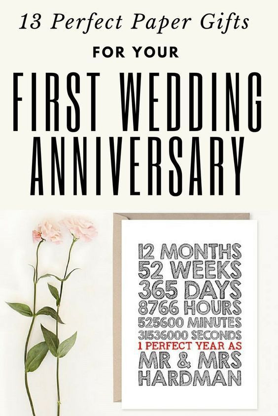 1St Anniversary Gift Ideas For Him  14 Paper Gifts for your First Wedding Anniversary