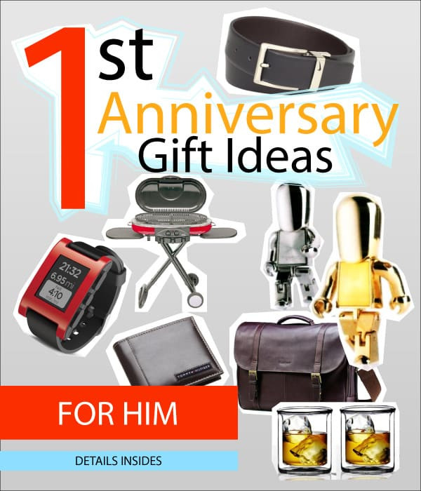 1St Anniversary Gift Ideas For Him  1st Wedding Anniversary Gift Ideas for Him Labitt