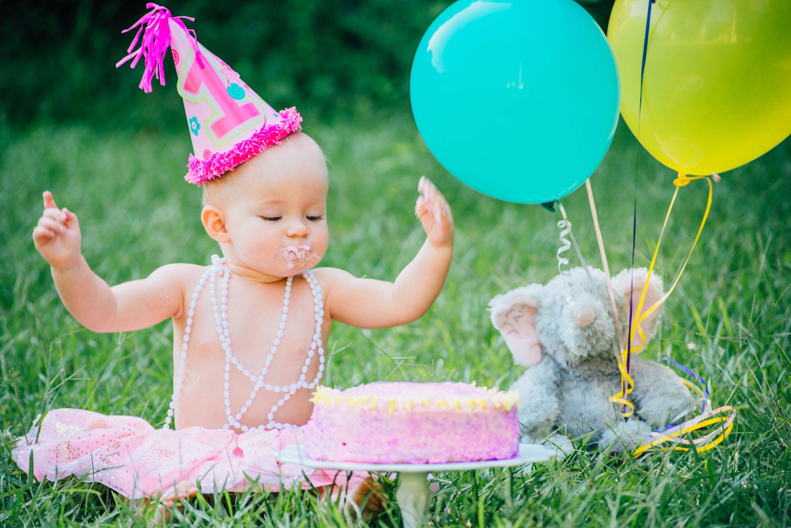 1st Birthday Cake Smash  Baby s 1st Birthday Cake Ashley Sweeney RD
