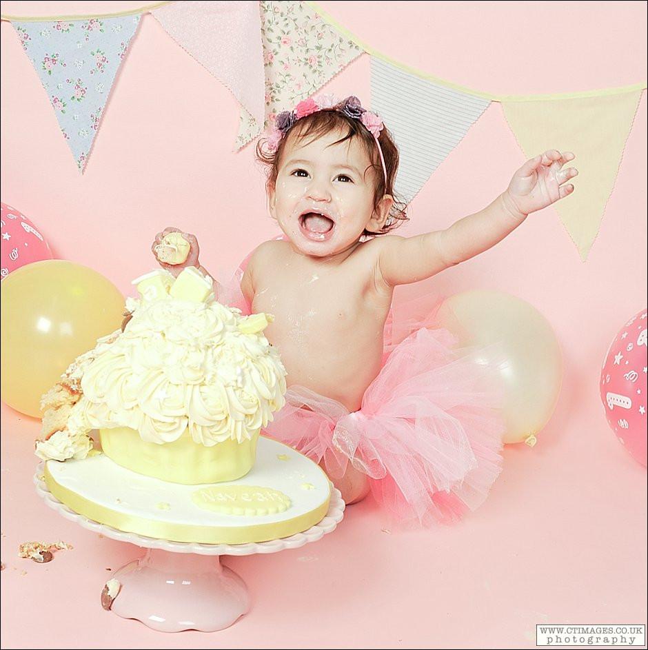 1st Birthday Cake Smash  First Birthday Cake Smash Manchester