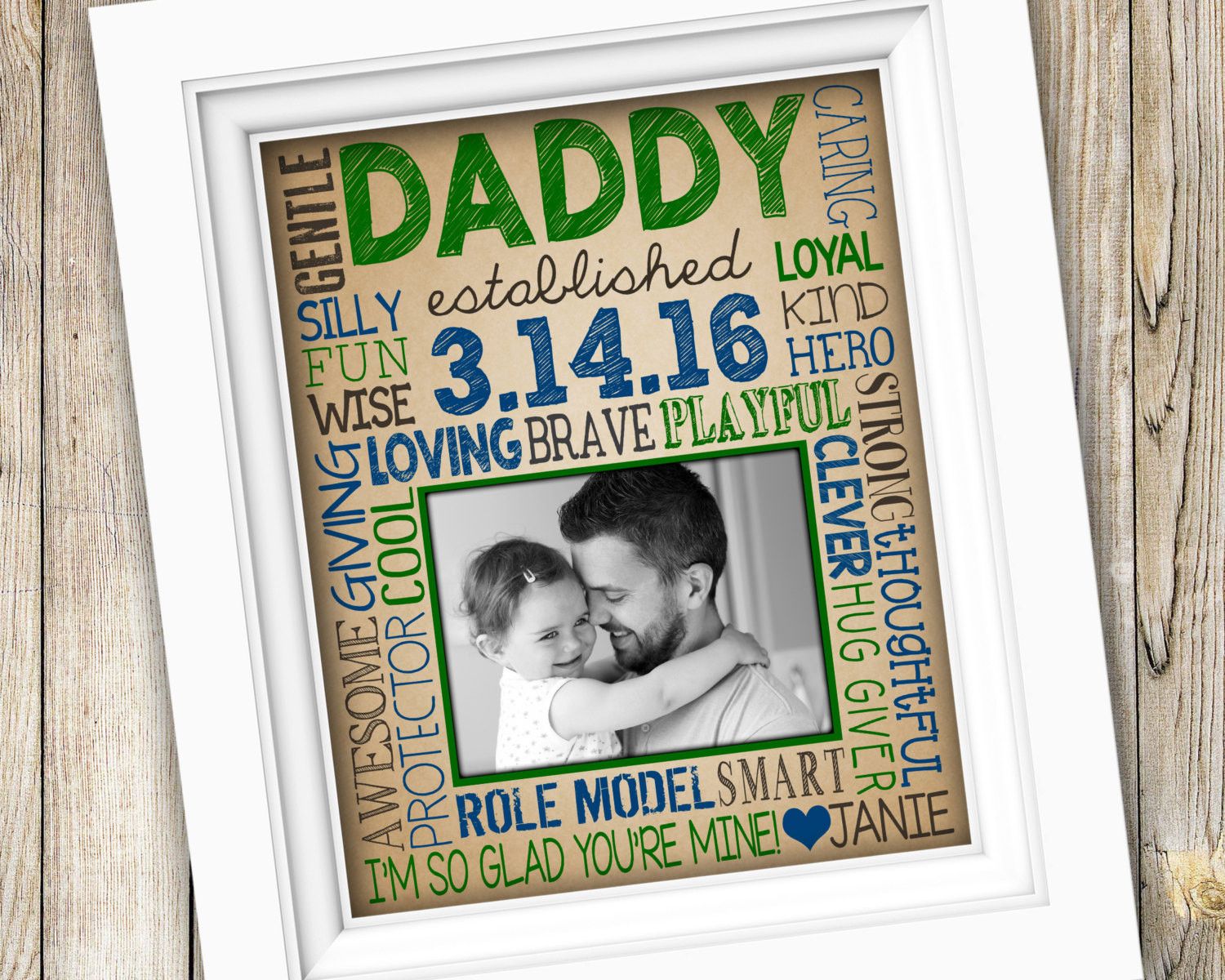 1St Father'S Day Gift Ideas From Baby  First Time Dad Gift New Dad Gift for Daddy First