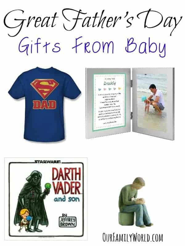 1St Father'S Day Gift Ideas From Baby  Great Father's Day Gifts From Baby