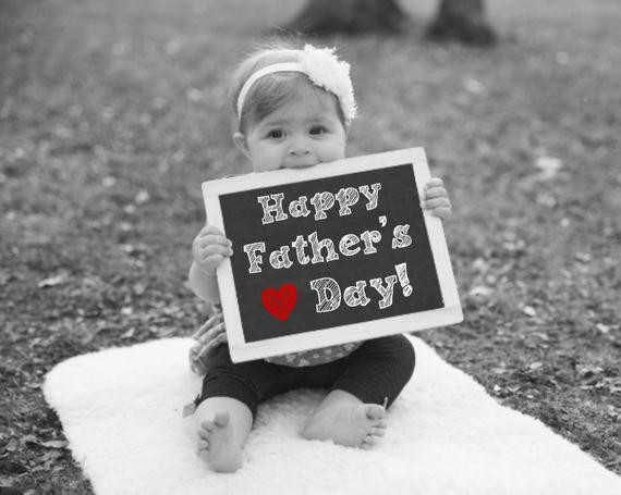 1St Father'S Day Gift Ideas From Baby  Happy Fathers Day Chalkboard Sign Fathers Day Gift Gift