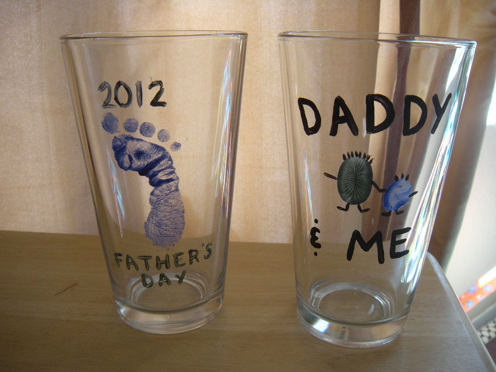 1St Father'S Day Gift Ideas From Baby  My husband s first father s day present The baby helped