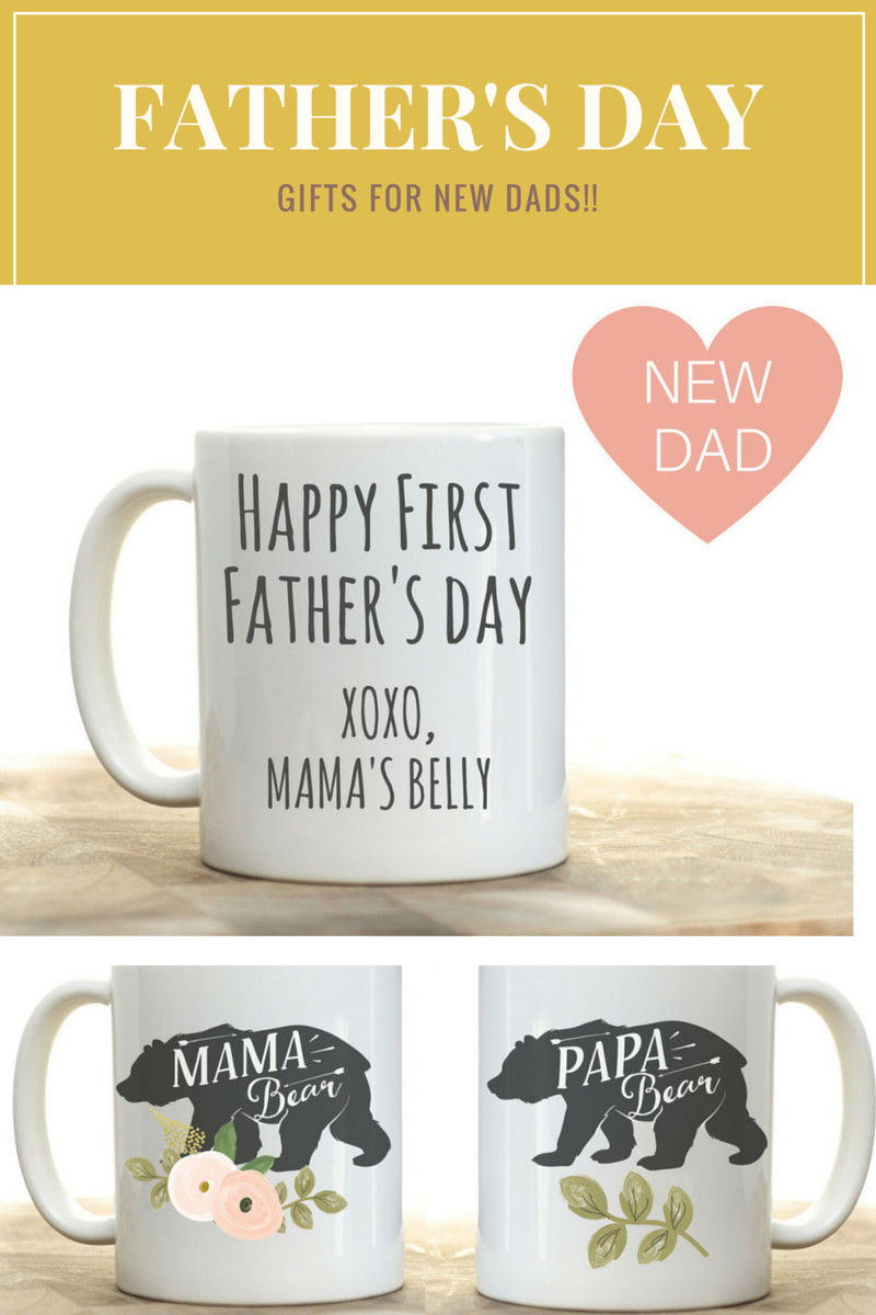 1St Father'S Day Gift Ideas From Baby  Father s Day t for first time dad new dad Father s Day