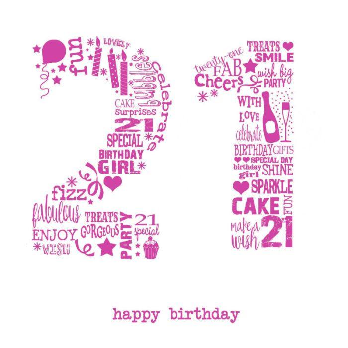 21st Birthday Quote  21st Birthday Wishes For Boy Girl BirthdayWishings