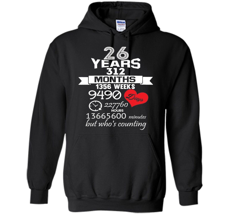 26 Year Anniversary Gift Ideas  Anniversary Gift 26th 26 years Wedding Marriage ideas
