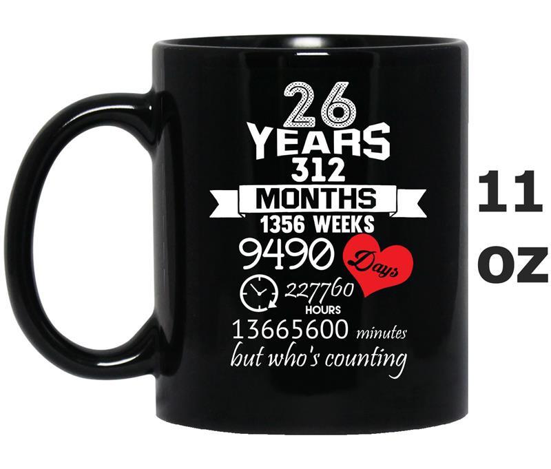 26 Year Anniversary Gift Ideas  Anniversary Gift 26th – 26 years Wedding Marriage ideas TD