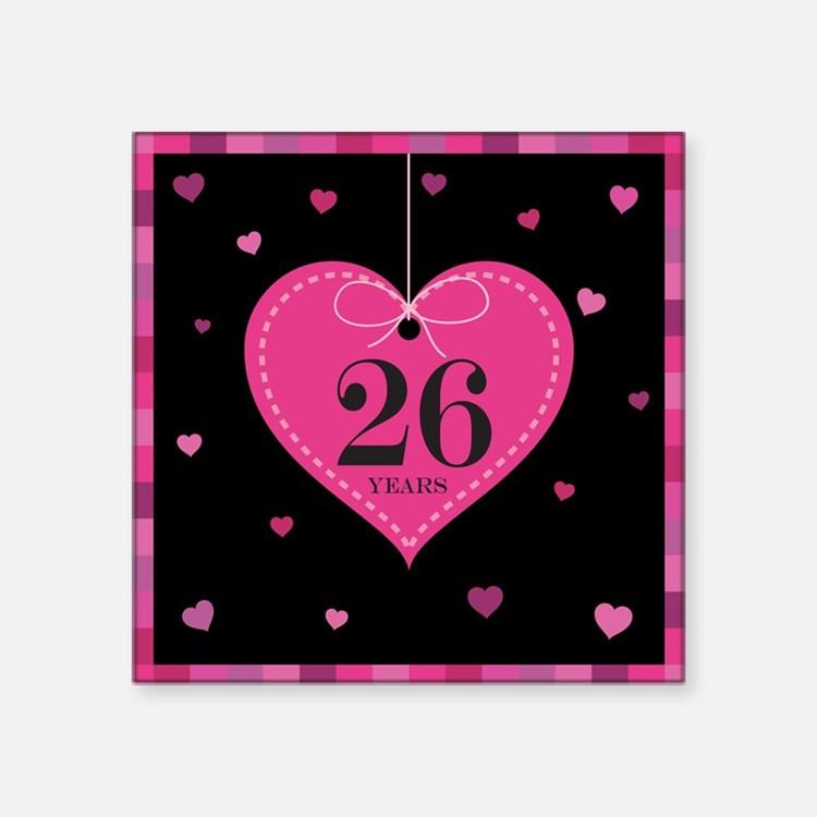 26 Year Anniversary Gift Ideas  26Th Wedding Anniversary 26th Wedding Anniversary Hobbies