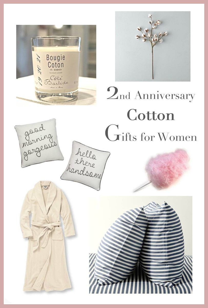 2Nd Anniversary Gift Ideas Her  2nd Anniversary Gifts for Her — Runway Chef
