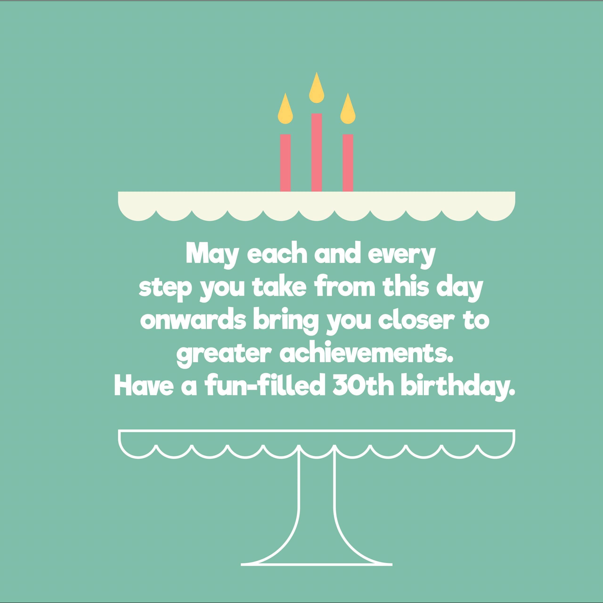 30 Birthday Quotes Funny  Unique Happy 30th Birthday Quotes and Wishes Top Happy