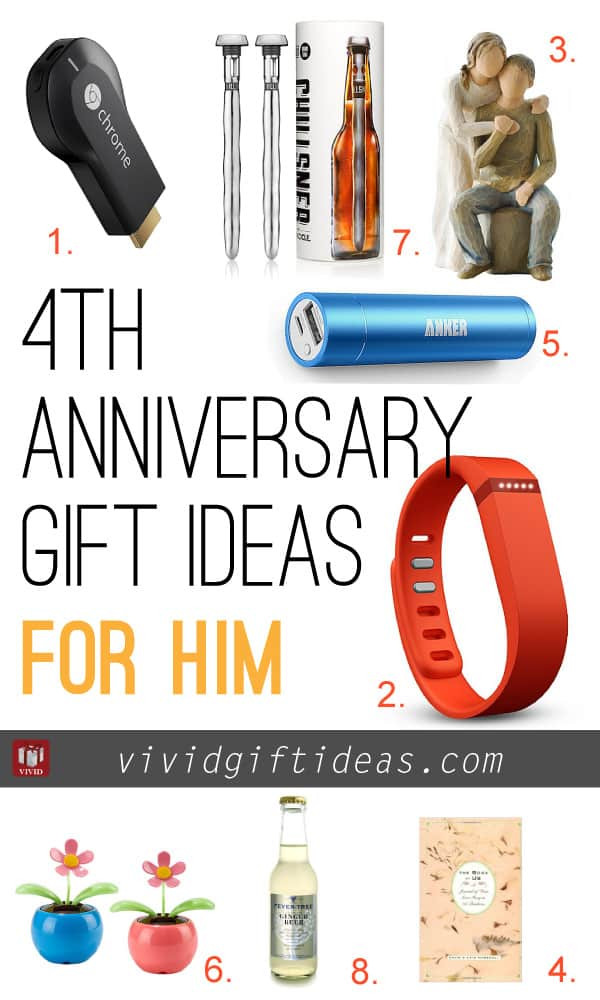 4 Year Wedding Anniversary Gift Ideas  4th Wedding Anniversary Gift Ideas Vivid s Gift Ideas