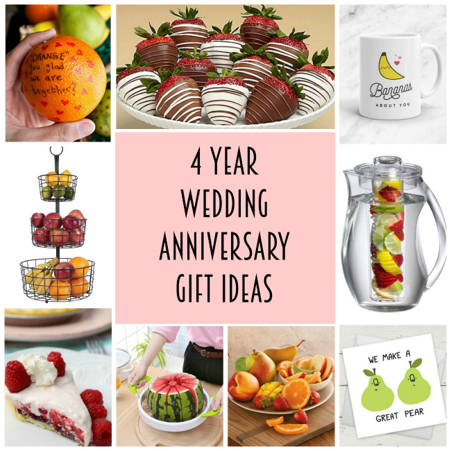 4 Year Wedding Anniversary Gift Ideas  4th anniversary t ideas Archives Lydi Out Loud