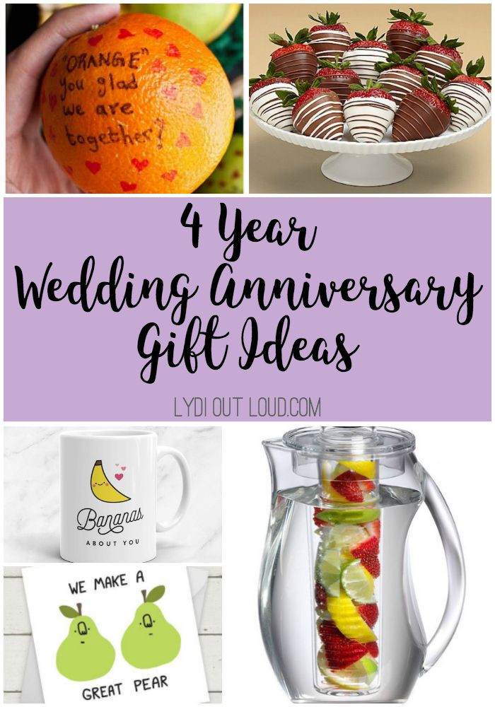 4 Year Wedding Anniversary Gift Ideas  4 Year Anniversary Gift Ideas