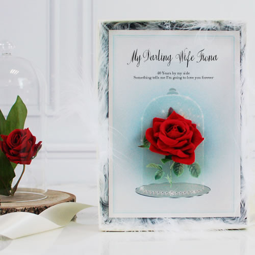 40Th Wedding Anniversary Gift Ideas  40th wedding anniversary t ideas for wife husband parents