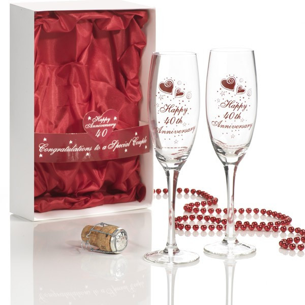 40Th Wedding Anniversary Gift Ideas  The Choices for 40th Wedding Anniversary Gifts