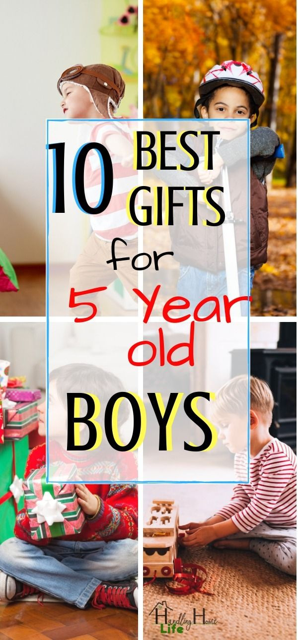 5 Year Old Boy Birthday Gift  10 Best Gifts for 5 Year Old Boys They are Sure to Love in