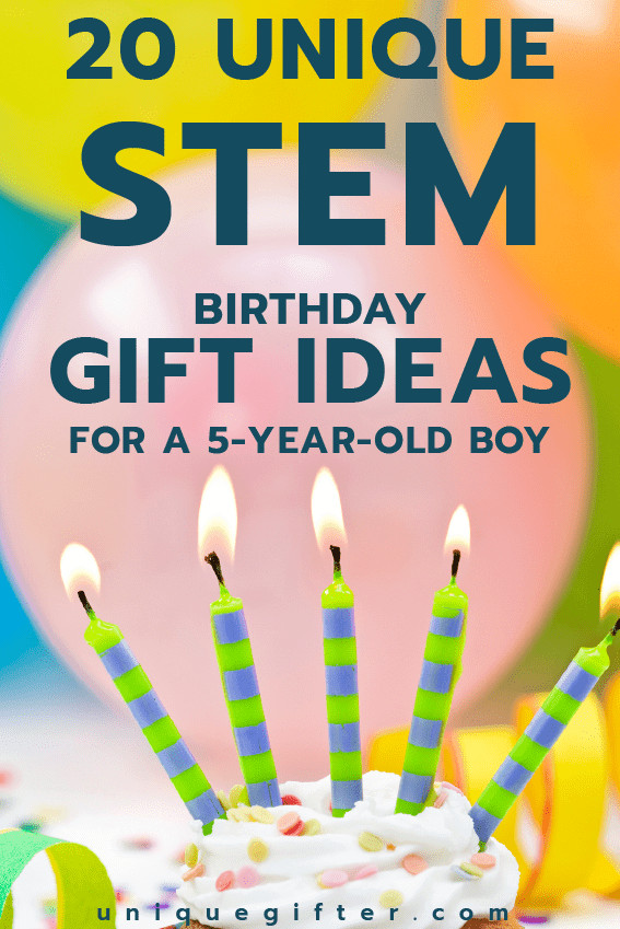 5 Year Old Boy Birthday Gift  20 STEM Birthday Gift Ideas for a 5 Year Old Boy Unique