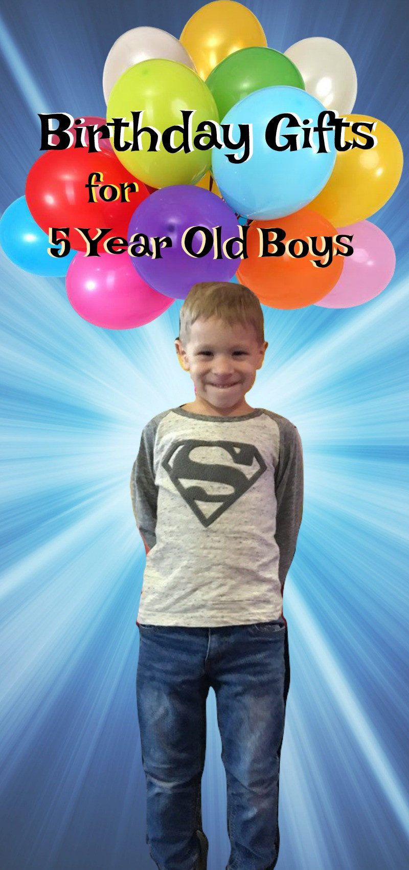 5 Year Old Boy Birthday Gift  What Are The Best Toys for 5 Year Old Boys 25 Great