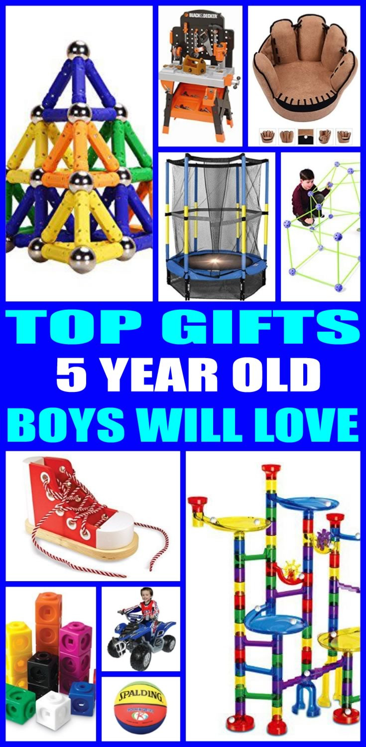 5 Year Old Boy Birthday Gift  Top Gifts 5 Year Old Boys Want