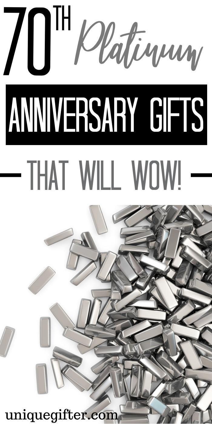 70Th Anniversary Gift Ideas  20 70th Platinum Anniversary Gift Ideas Unique Gifter