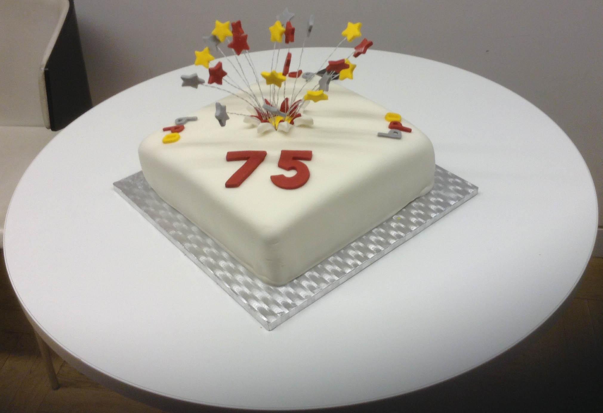 75th Birthday Cakes  Our 75th Birthday Cake – BPO