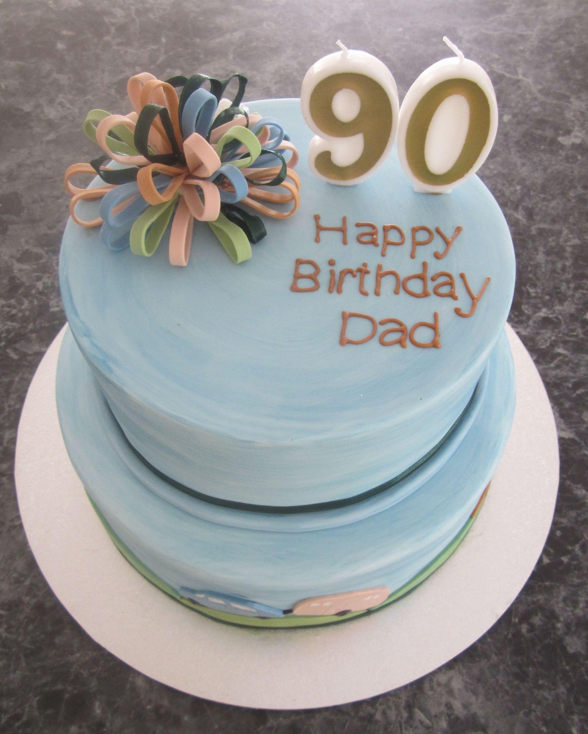 90Th Birthday Gift Ideas For Men  Image result for 90th birthday cake for men