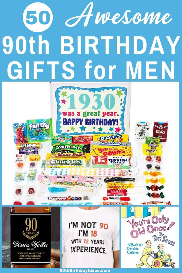 90Th Birthday Gift Ideas For Men  Birthday Gifts for 90 Year Old Man