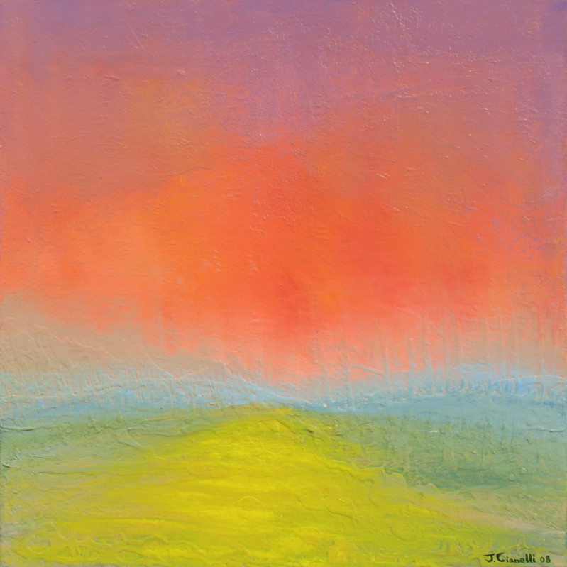 Abstract Landscape Paintings  abstract landscape painting Archives Cianelli Studios