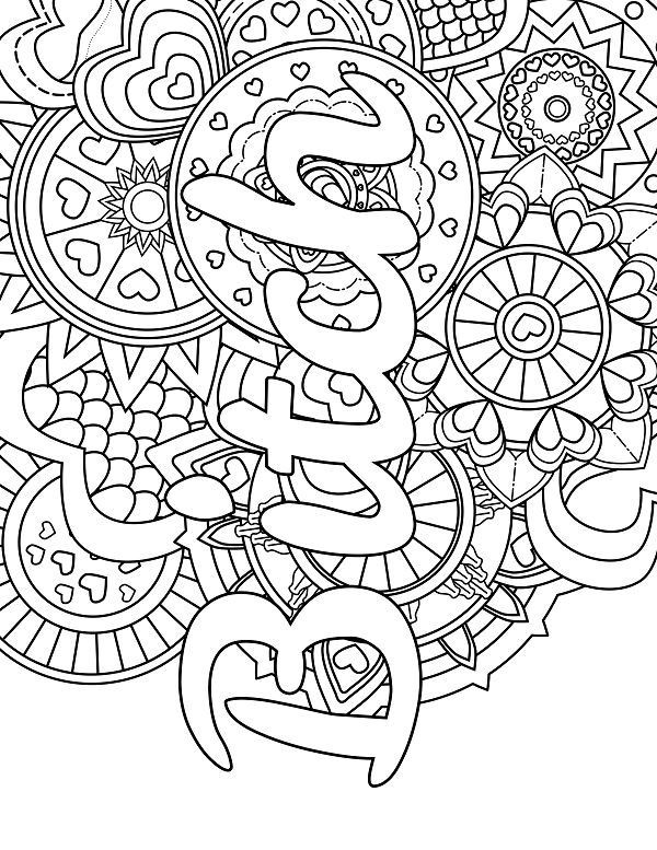 Adult Coloring Pages Swear Words  418 best Swear Word Coloring Pages images on Pinterest