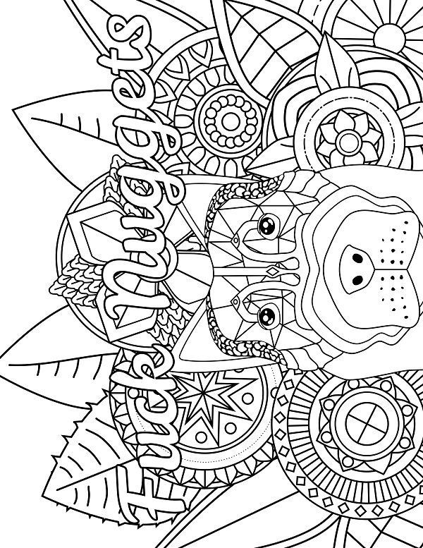 Adult Swear Coloring Pages  418 best Swear Word Coloring Pages images on Pinterest
