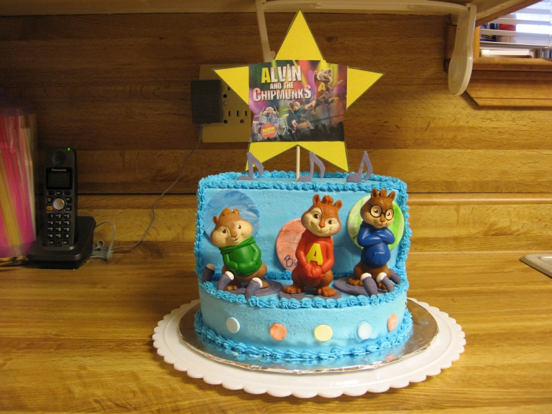 Alvin And The Chipmunks Birthday Cake  301 Moved Permanently