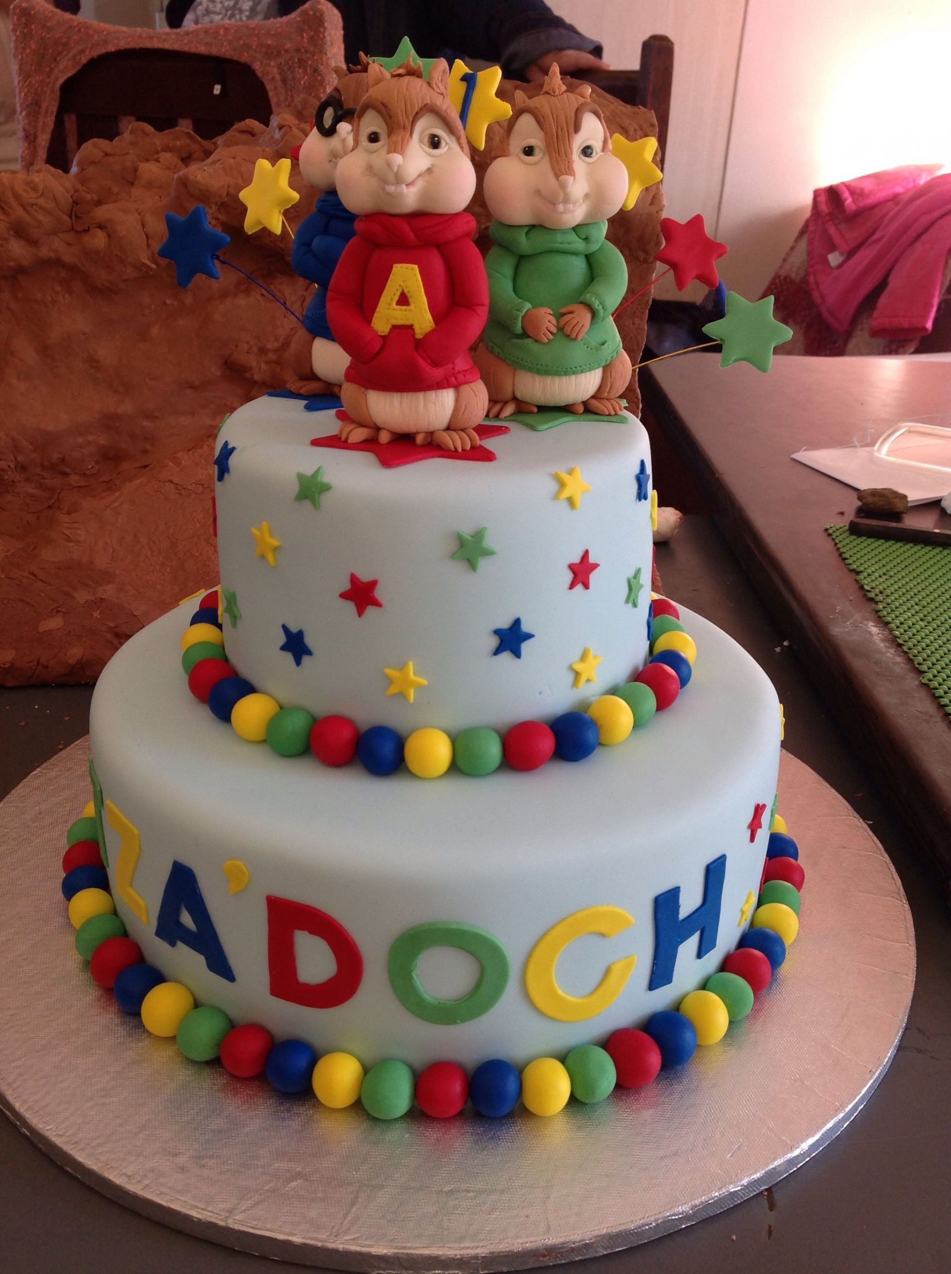 Alvin And The Chipmunks Birthday Cake  Alvin and the chipmunks