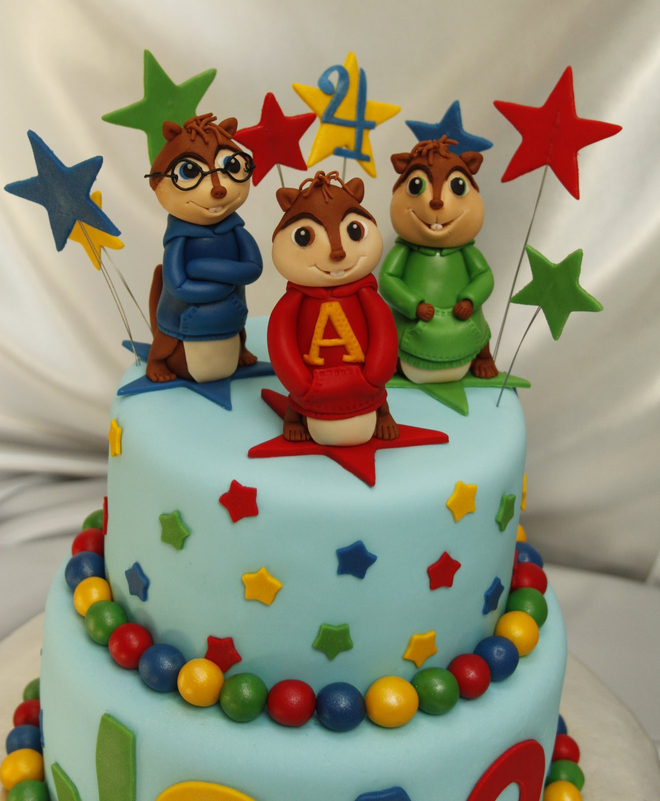 Alvin And The Chipmunks Birthday Cake  Amazing Grace Cakes Alvin and The Chipmunks