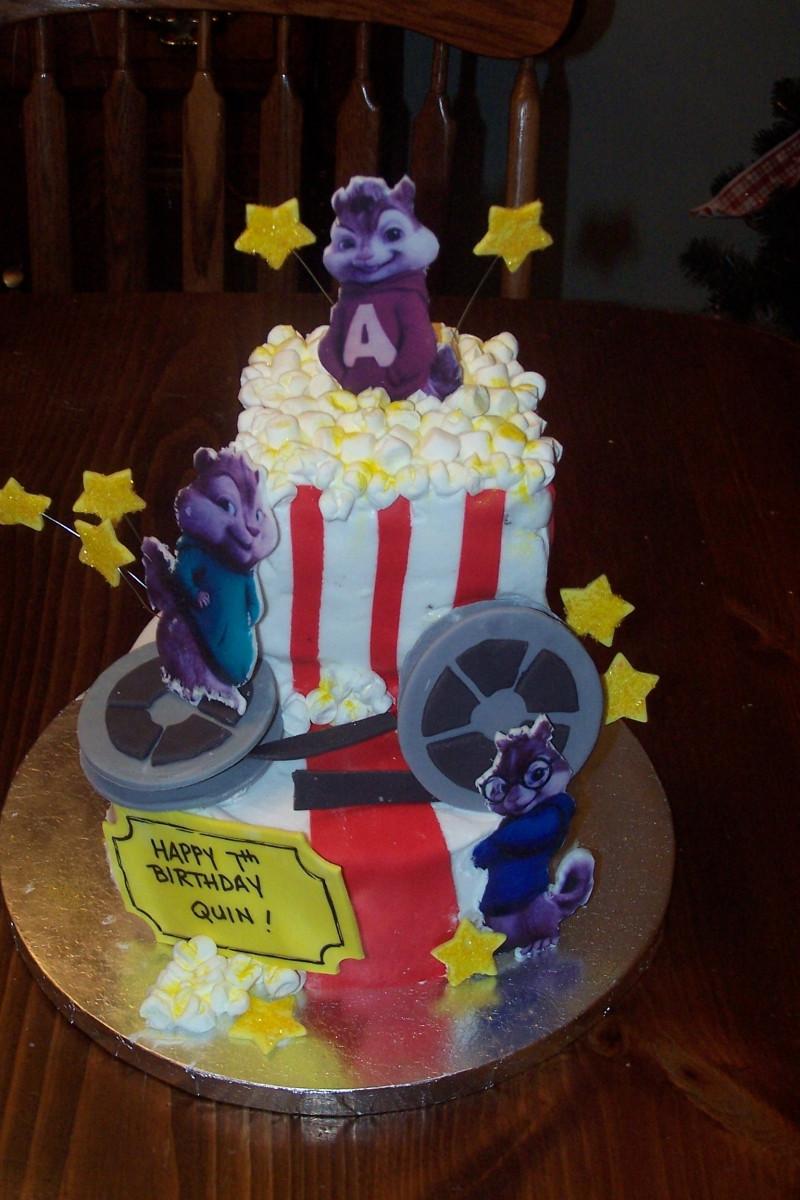 Alvin And The Chipmunks Birthday Cake  Alvin And The Chipmunks Birthday Cake