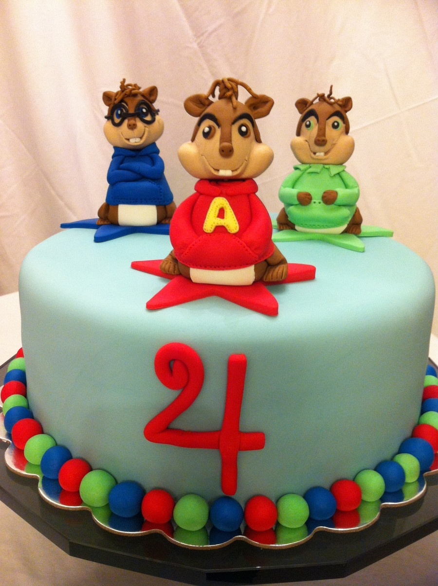 Alvin And The Chipmunks Birthday Cake  Alvin And The Chipmunks CakeCentral
