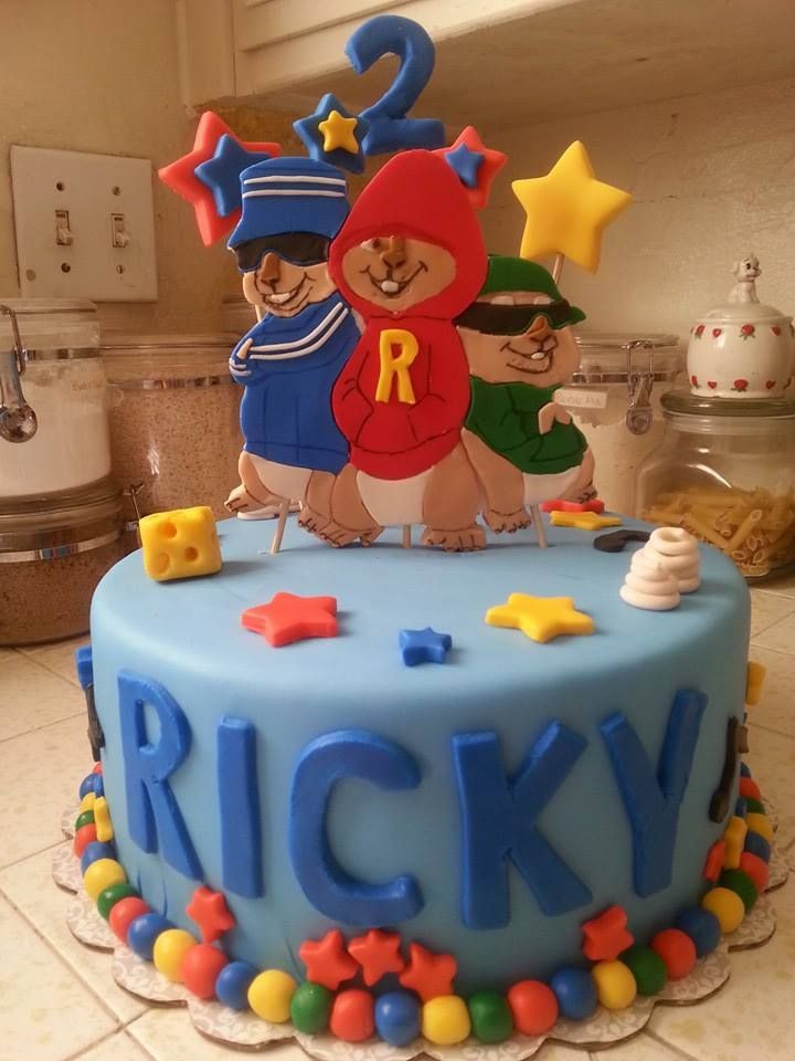 Alvin And The Chipmunks Birthday Cake  17 Best images about Alvin and the Chipmunks Theme on