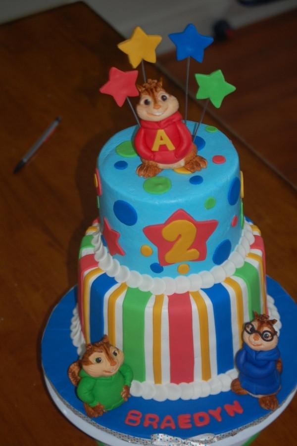Alvin And The Chipmunks Birthday Cake  Alvin and the Chipmunks cake Cake Ideas