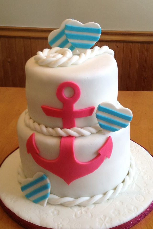 Anchor Birthday Cakes  Anchor cake