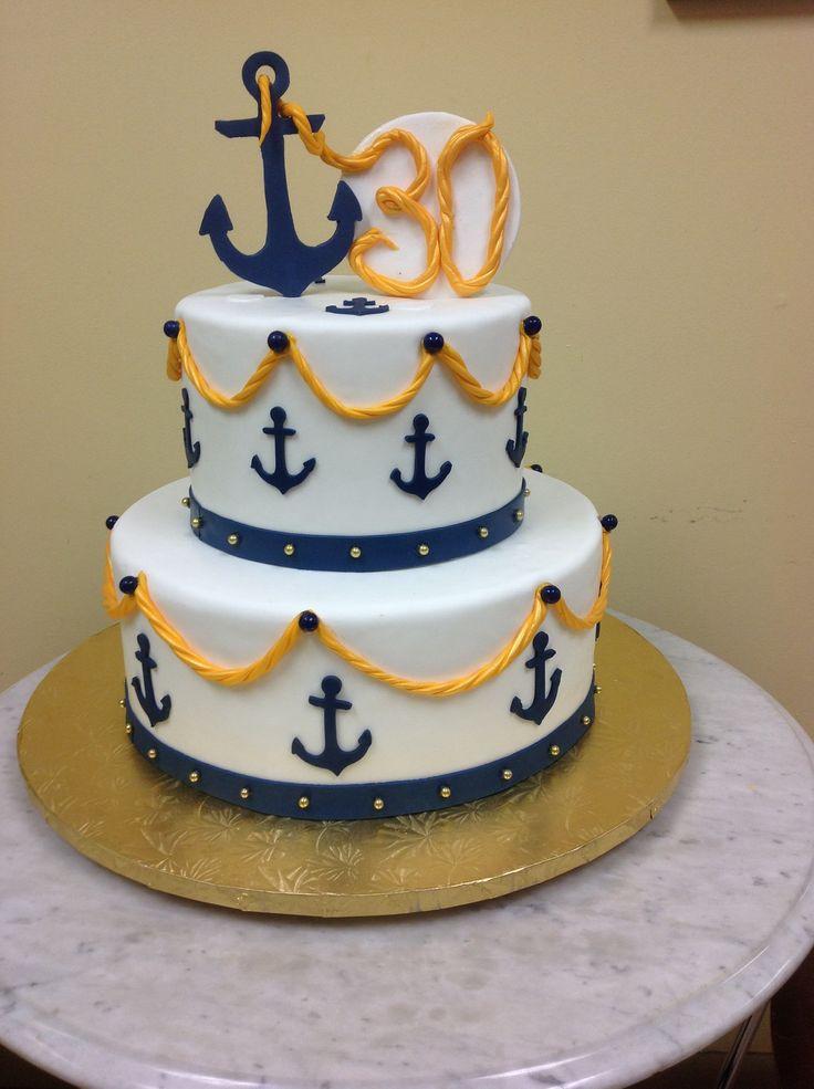 Anchor Birthday Cakes  Anchor Birthday Cakes
