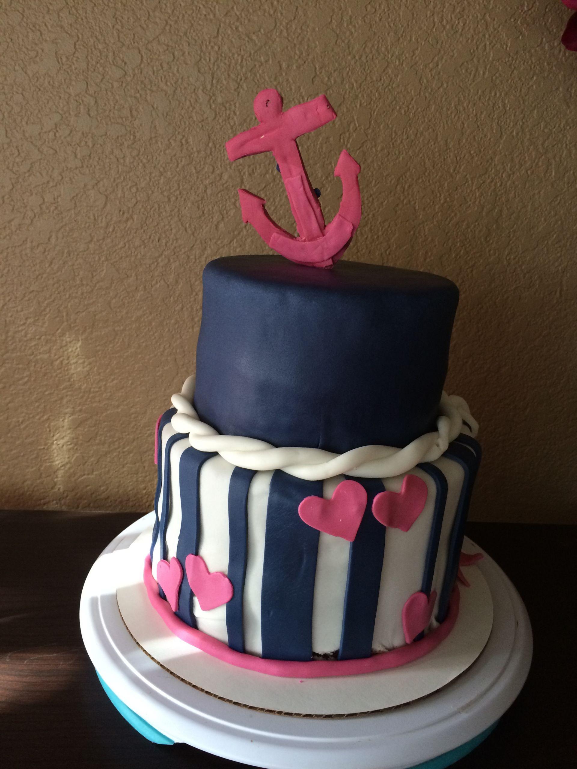 Anchor Birthday Cakes  anchor