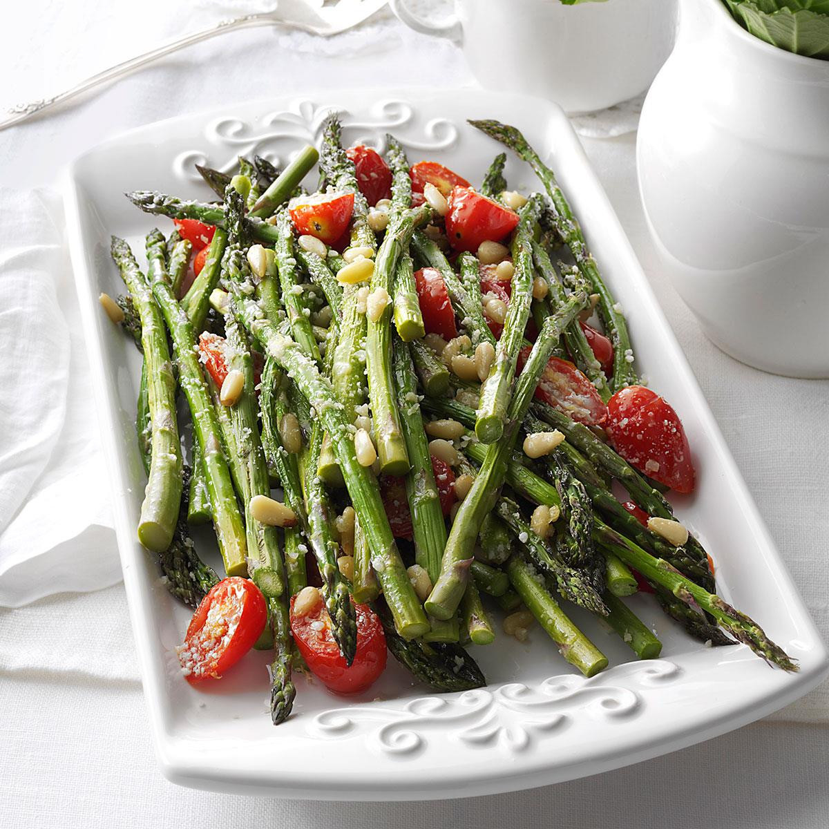 Asparagus Side Dishes  Tuscan Style Roasted Asparagus Recipe