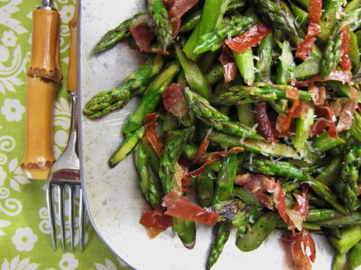 Asparagus Side Dishes  A Prettier Way to Cut Asparagus & A Tasty Easter Side Dish