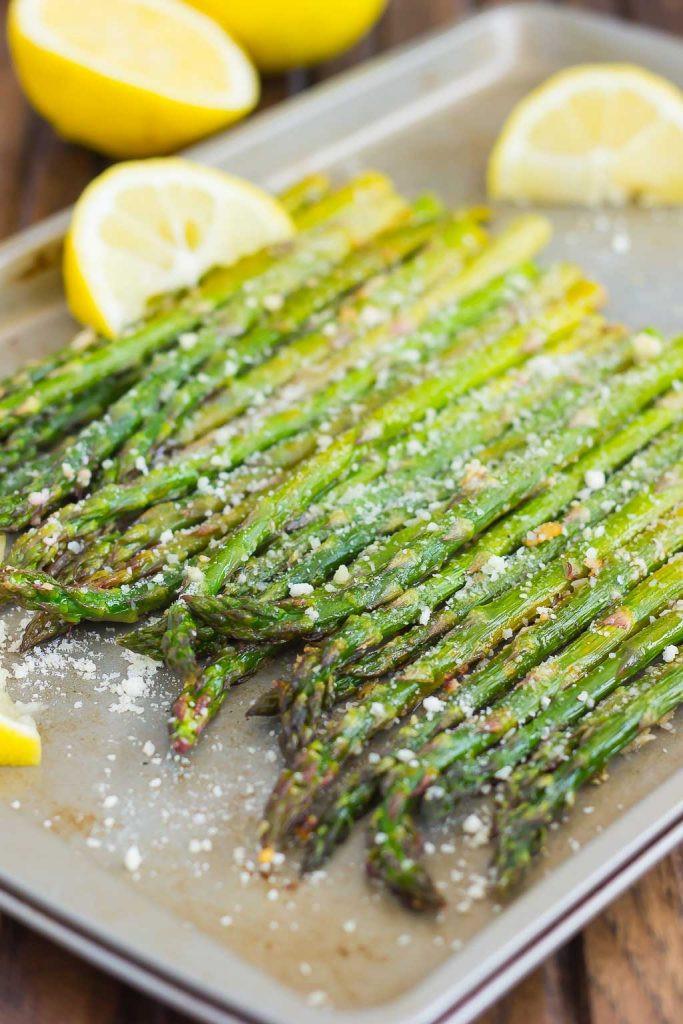 Asparagus Side Dishes  Lemon Parmesan Roasted Asparagus Pumpkin N Spice