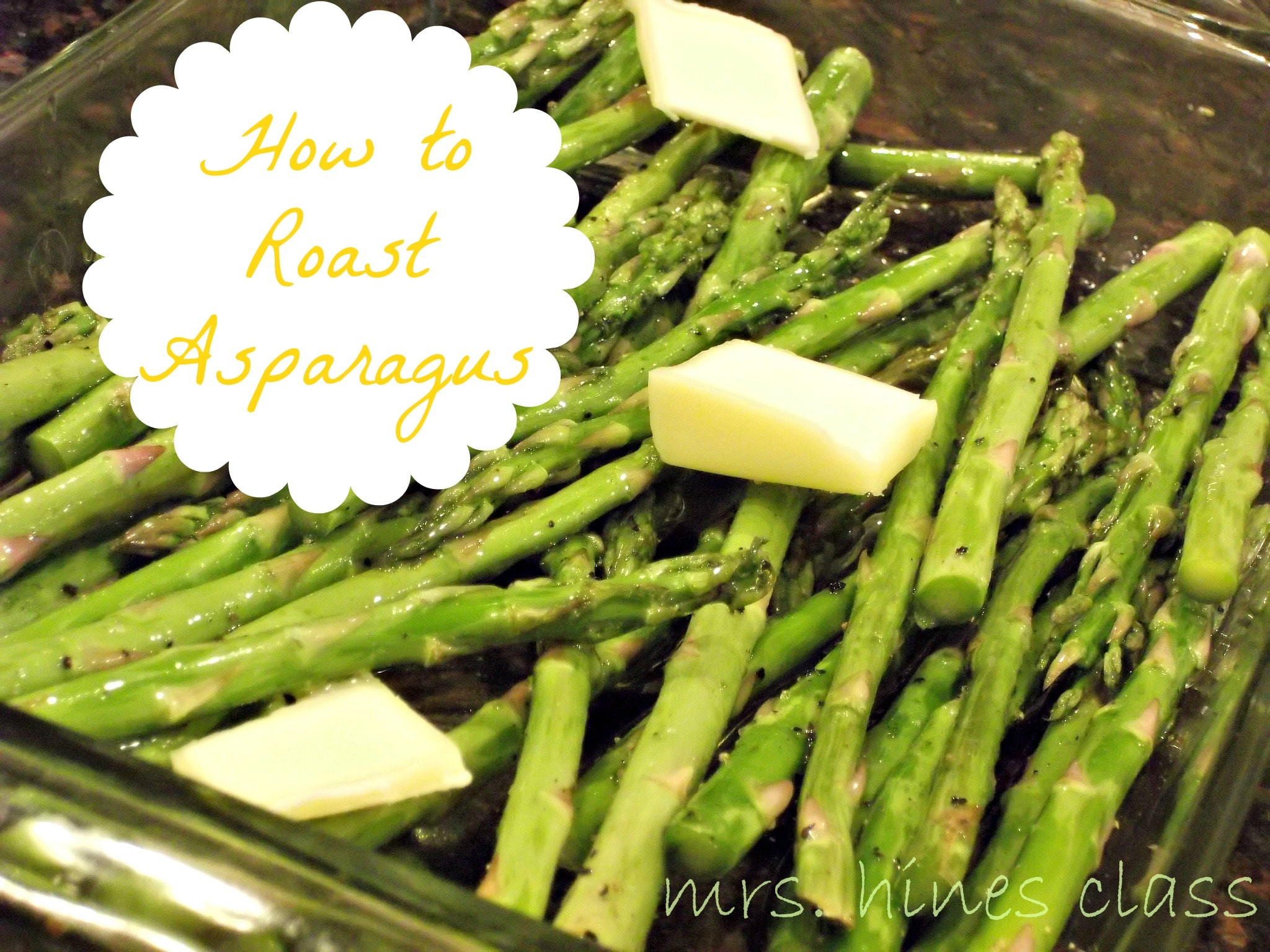 Asparagus Side Dishes  the perfect side dish roasted asparagus Mrs Hines Class