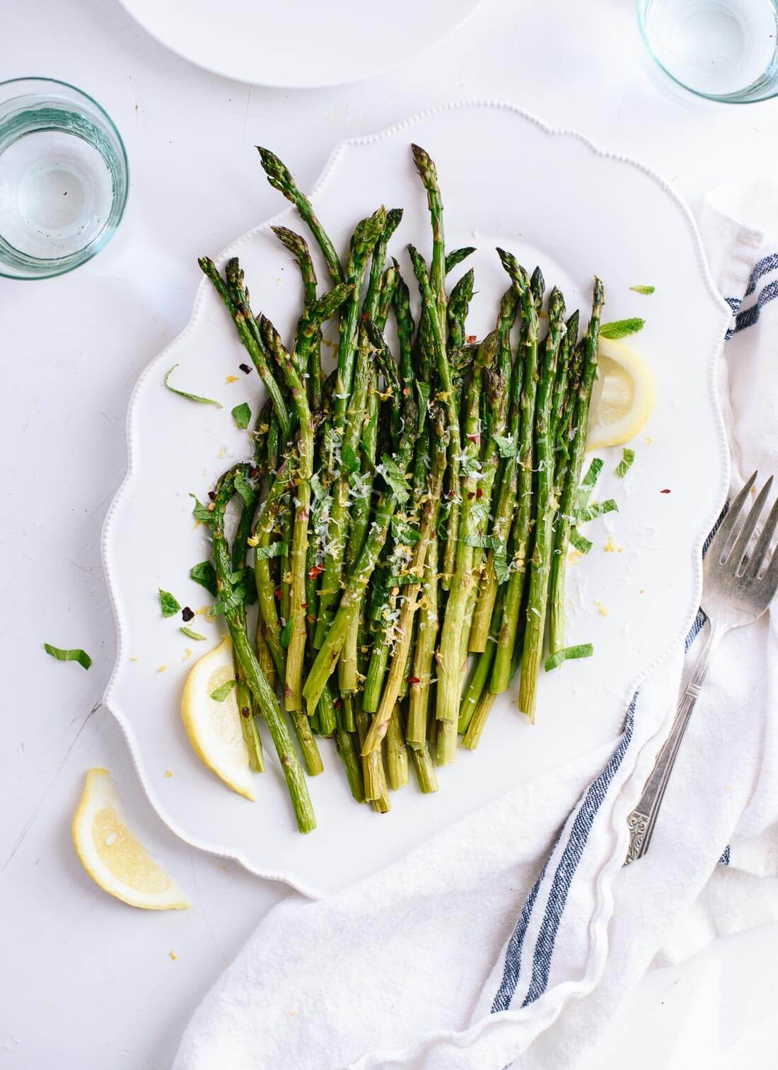 Asparagus Side Dishes  Simple roasted asparagus recipe the perfect spring side